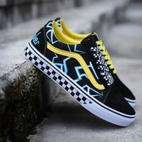 Best Deal Online mindseeker Vans Old Skool Low Top Men Flats Shoes Canvas Sneakers Women Sport Shoes