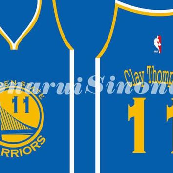 Golden State Warriors Number 11 Drawstring Bags Men Sports Backpack Digital Printing Pouch Customize Bags 35*45cm