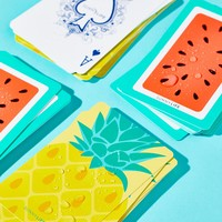 Free People Water Resistant Playing Cards