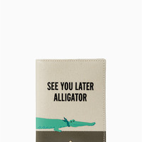 swamped alligator passport holder | Kate Spade New York