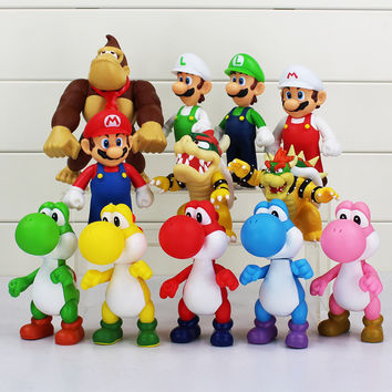 Super Mario Bros Model Dolls