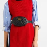 GUCCI GG Marmont quilted leather belt bag