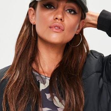 Missguided - Khaki Baby Detail Cap