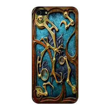 Steampunk Book Cover iPhone 5/5S/SE Case