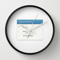Funny Wall Clock by Trend