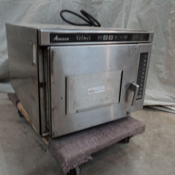 Amana Microwave Convection Oven Combo 2000-Watt Magnetron Veloci -- Parts/Not Working