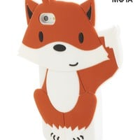 Aeropostale Womens Fox iPhone 5 Case - Brown, One