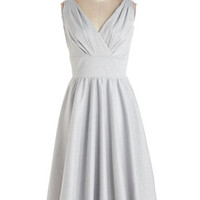 Stop Staring! Long Sleeveless A-line Bright and Bubbly Dress