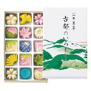 Kyoto Souvenir Japanese Traditional Assorted Wasabon Wagashi Sweets 15pcs | eBay