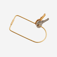 Contour Key Ring: Bend