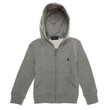 Ralph Lauren Childrenswear Little Boys 2T-7 Full-Zip Hoodie | Dillards