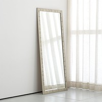 Birch Silver Floor Mirror