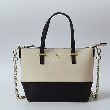 Kate Spade Women Leather Metal Chain Handbags Shoulder Bag Inclined Shoulder Bag H-YJBD-2H