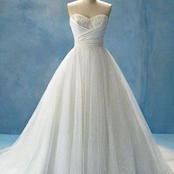 Cheap Alfred Angelo Style 205 Disney From Tiffanybridalsorg