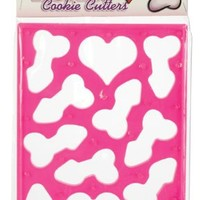 California Exotics Penis & Heart Cookie Cutter