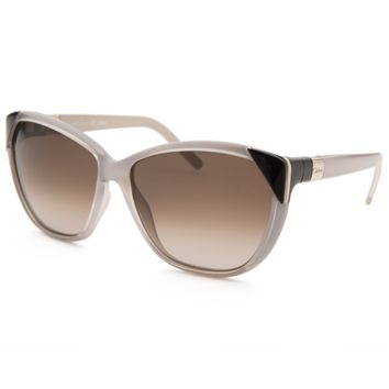 Chloe Women's Square Light Grey Sunglasses | Bluefly