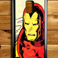 Superhero Iron Man Samsung Galaxy Note 4 Case