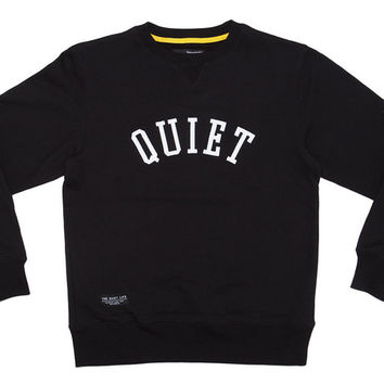 The Quiet Life Quiet Applique Sweatshirt - Bodega