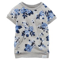 Carter's Floral French Terry Tunic - Baby Girl, Size: