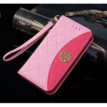 Perfect Tory Burch Fashion iPhone Samsung Phone Cover Case For iphone 6 6s 6plus 6s-plus 7 7plus 8 8plus