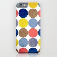 Round and Round iPhone & iPod Case by Miss L In Art