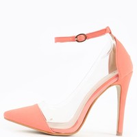 Liliana Olga-1f Clear Pastel Pumps