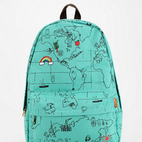 Urban Outfitters - Carrot Map Backpack