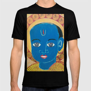 BOY KRISHNA T-shirt by Kathead Tarot/David Rivera