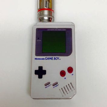 Vape mod decal, vape skin, nintendo gameboy