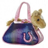 Aurora World Betsey Bling Horse Fancy Pals Pet Carrier
