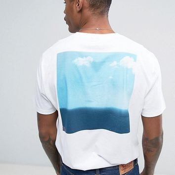 ASOS Relaxed T-Shirt With Photographic Back Print at asos.com