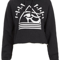 **Pyramid Eye Hoody by Illustrated People - Illustrated People - Clothing Brands  - Designers