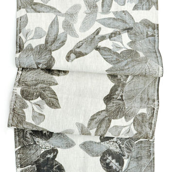Jungle Flora Table Runner