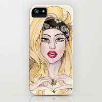 IN LOVE WITH JUDAS iPhone & iPod Case by VinceGabriel