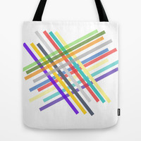 Lines  Tote Bag by Irmak Berktas