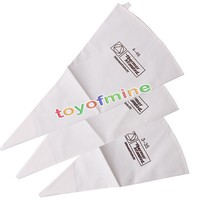35/40/46cm 100% Cotton Cream Pastry Icing Bag Baking Cooking Cake Tools Piping Bag Kitchen Accessories Eco-Friendly