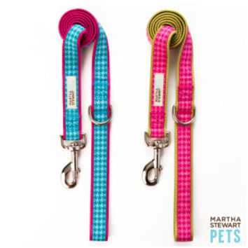 Martha Stewart Pets® Houndstooth Dog Leash