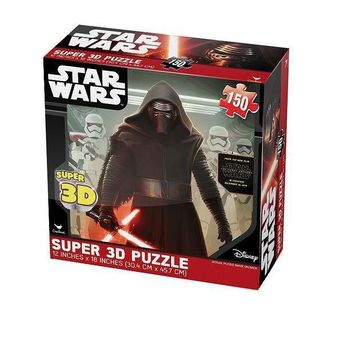 Star Wars: Episode Vii The Force Awakens 150 Pc. Super 3d Puzzle By Cardinal