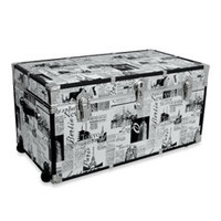 Storage Trunk With Wheels   Passport Print