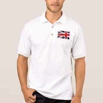Union Jack | Men's Gildan Jersey Polo Shirt