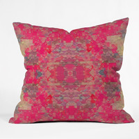 Deniz Ercelebi Spring 5 Outdoor Throw Pillow