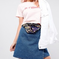 Skinnydip Multi Sequin Fanny Pack at asos.com