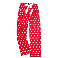 Monogrammed Red Hot Spot Flannel Pajama Pant by Cordial Lee