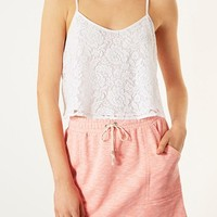 Topshop Lace Crop Camisole | Nordstrom