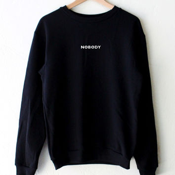 Nobody Oversized Sweater