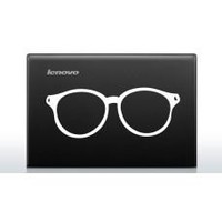 Glasses Automobile Car Window Decal Tablet PC Sticker Automobile Window Wall Laptop Notebook Etc. Any Smooth Surface