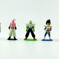 5 pc Dragon Ball Z Theme Cake or Cupcake Toppers Party Favors