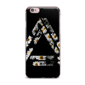 "Alias ""Impossible Daisy Chain"" Black Yellow iPhone Case"