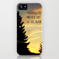 Tomorrow Is Another Day iPhone Case by Sandra Arduini | Society6