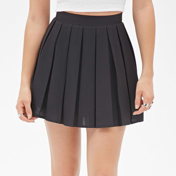 Box-Pleated Mini Skirt | Forever 21 - 2000103607